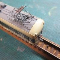 ランボードを塗り足す 鉄コレ富山地方鉄道14791形(思いがけず その2)