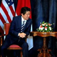 <日米首脳会談・・イタリア>北朝鮮「大きな問題」だがいずれ解決=日米首脳会談でトランプ氏