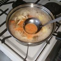 おそらく簡単トマトスープ。