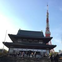 増上寺&東京タワー☆ 最強のツーショット