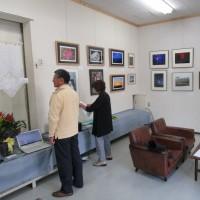 NTT小松能美地区退職者 余暇作品展 開催中