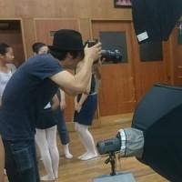全体練習&シニヨン・メイク講習&顔写真撮影