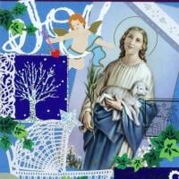 Cardごのみ447~天使の窓&微笑むマリア