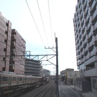 205系+EH500-66牽引コンテナ貨物列車【武蔵野線:西国分寺駅】 2016.NOV