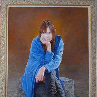 謹賀新年「肖像画の益子」