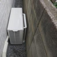 千葉県:習志野市津田沼にて、エアコン2台新設工事