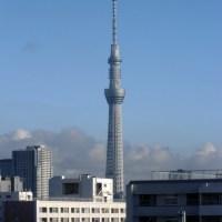 今朝の東京スカイツリー、2016/7/29
