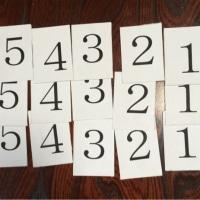 指番号カード作成