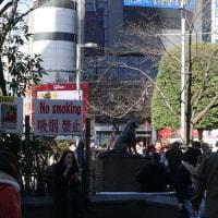 渋谷で待ち合わせと言ったらハチ公だけど…
