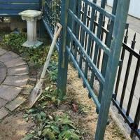 超簡単フェンスを作成。