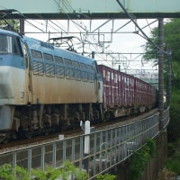 2017年4月28日 東海道貨物線 東戸塚 EF66-105 5052レ