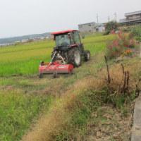 田園風景と働き者