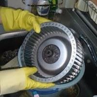 レンジフードの分解洗浄