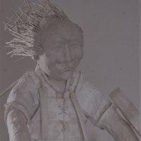 和紙の人形