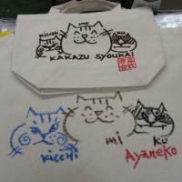 猫カバンに~サイン(=^ェ^=)