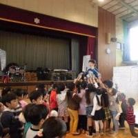 6年生を送る会練習(1年生)