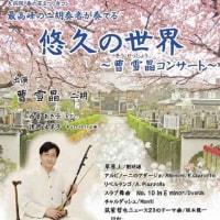 柏での「春の花まつり寺コン ~ 曹 雪晶コンサート ~ 」
