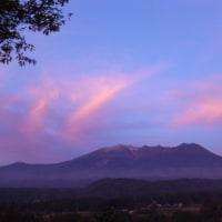 朝な夕なの雲模様・・・