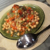 シルクロードのひよこ豆サラダ