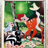 いち子ばーばの一番大きな作品はバンビ
