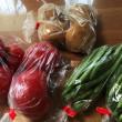 紫蘇・ライン・夏野菜