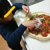 1951☆息子ちゃんのピザ☆