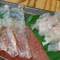 今日の餐魚洞料理~♪ & 戴きもの・・・銀座千疋屋のフルーツタルト♪ & AKAISHIのアーチフィッター・コンフォート136~♪