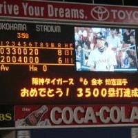 阪神金本3500 塁打