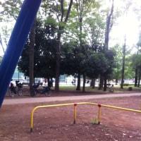 ぴかちゃんと公園へ