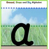 アルファベット〜4線指導こんな方法も