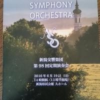 久々県民会館でオーケストラ