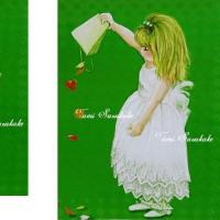 絵画販売・アートポスター「花びらヒラリ」
