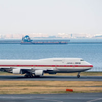 Japanese Air Force One   HND 16L Take Off !!!  (3月19日 羽田空港)