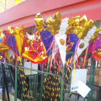 盆燈籠(広島市を歩く145)