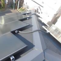 ソーラーフロンティア太陽光発電システムの5年次定期点検(点検:日天株式会社)