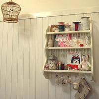 アトリエのお気に入りの棚。