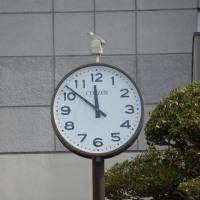 川越工業高校の時計