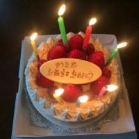 ジャイアンツファン×3+バースデーケーキ。