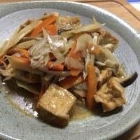 「厚揚げの甘辛炒め煮」210kcal