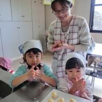 クリームメロンパン作り~頴娃保健センター&スマイルクラブ~