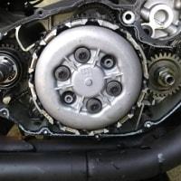 SR400クラッチ軽量化(自己責任)