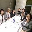 愛知県看護協会の総会に招かれた後の懇親会。久々に楽しいひとときでした。