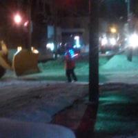 外で徐排雪作業やってます!!