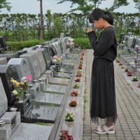 お墓参りに行ってきました。
