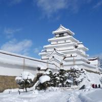 雪の天守閣