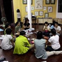 タイ・フィリピンの講師によるワークショップ アジア共同プロジェクト