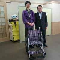 車椅子寄贈