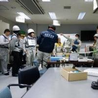 通告なしの参集訓練、災害時協力に関する協定調印式など