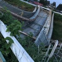 旧駒見橋解体工事…失敗か⁇⁇⁇