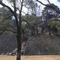 被災をした熊本城